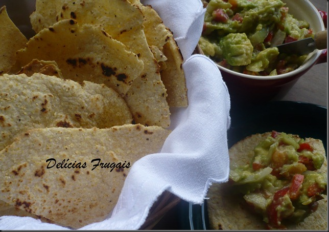 Guacamole e Tortillas - Delícias Frugais