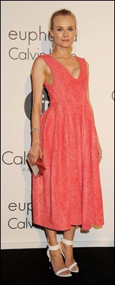 Diane Kruger attends as The IFP, Calvin Klein Collection in Cannes