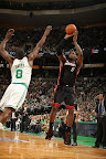 lebron james nba 130127 mia at bos 10 Boston Outlasts Miami in 2nd OT. LeBron Debuts Suede X PE!
