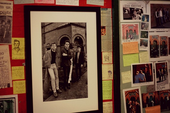 THE SMITHS EXHIBITION SALFORD LADS CLUB 2