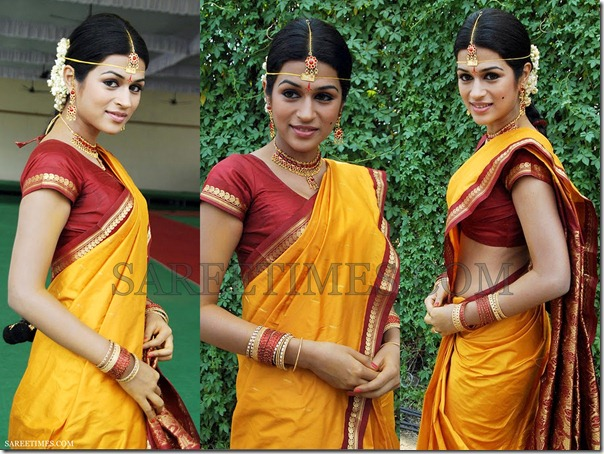 Shraddha_Das_Traditional_Saree
