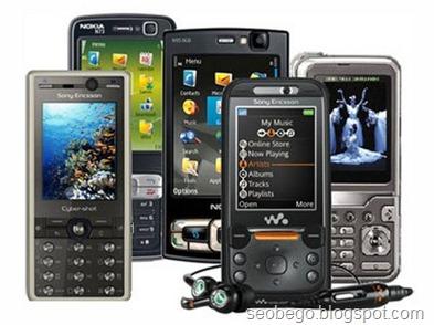 Handphone Terbaru Pilihan Tahun 2012