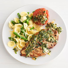 Chicken With Arugula Pesto