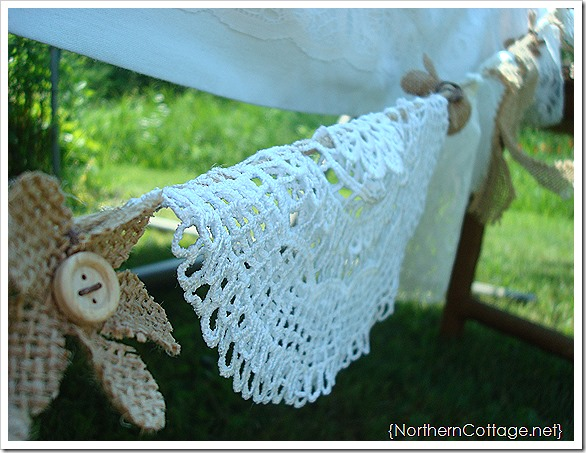 {NORTHERN COTTAGE} RUSTIC BANNER