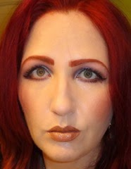 wearing Complexion Rescue Tinted Hydrating Gel Cream in Opal (2)