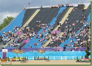 empty olympic seats