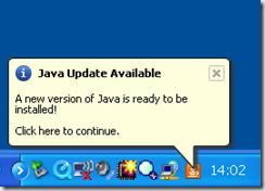 Java Update