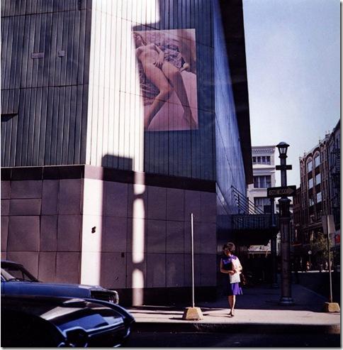 Harry Callahan_Providence_1970_Multiple Exposure_Nude on Building