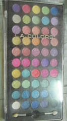 LA Colors artist palette, bitsandtreats