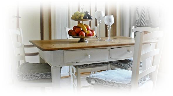 det lille kjøkkenbordet