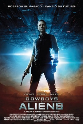 Poster Cowboys &amp; Aliens