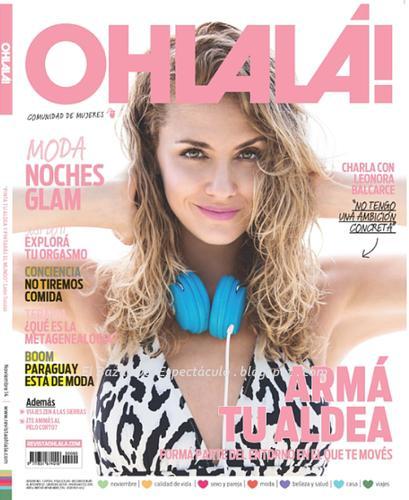 Leonora balcarse en revista ohlala noviembre 2014 tapa for Revistas de chismes del espectaculo