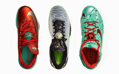 nike lebron 11 xx christmas pack 6 09 Release Reminder: Nike LeBron 11 Christmas Pack