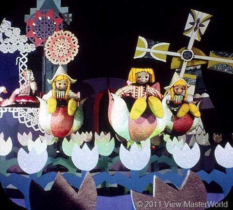 View-Master Fantasyland (A178), Scene 3-2: Dutch Children, It's A Small World