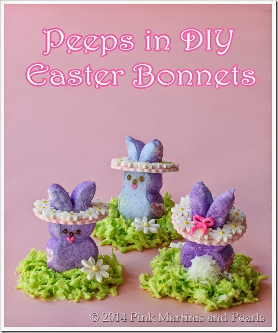 Peeps DIY Decorations Easter Bonnets-6598text