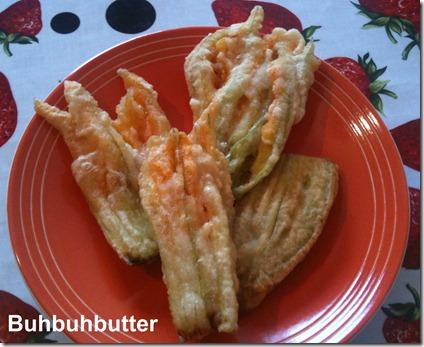 Fiori di zucca fritti blog