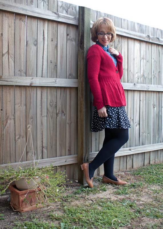 vintage style fashion blog outfit