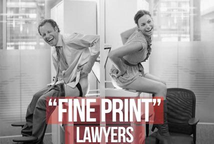 fine print lawyers
