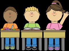 estudantes na escola