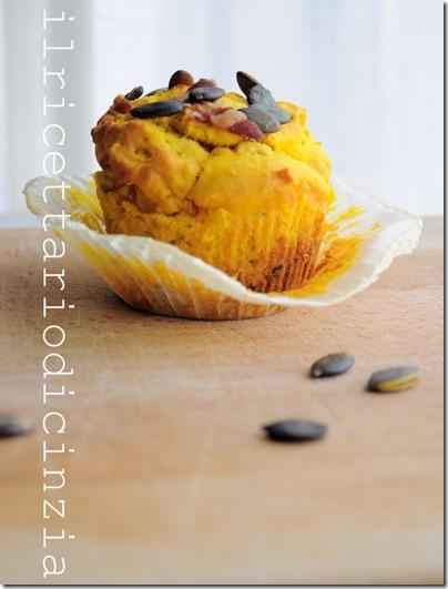 muffin zucca speck e rosmarino