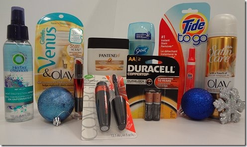 P&G Holiday Survival Kit Giveaway