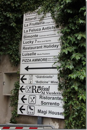Italy Roadsigns