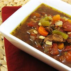 Barley, Beef and Vegetable Soup