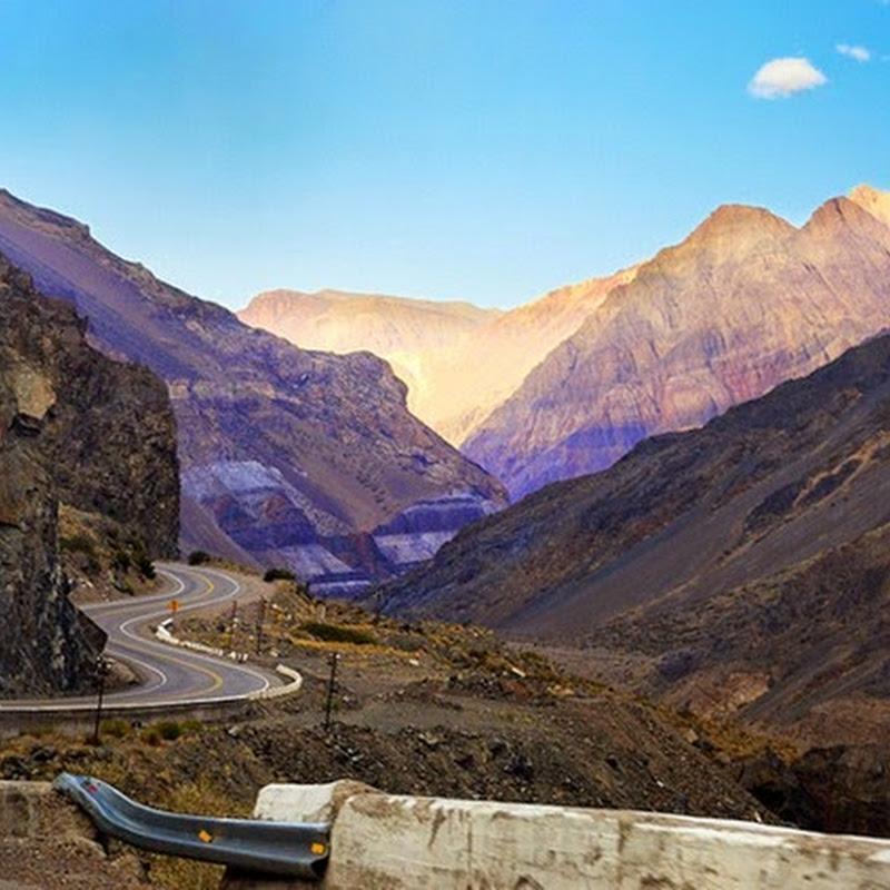 La Ruta de los Andes en La Rioja, Mendoza y San Juan.