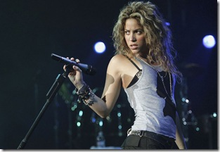 Shakira. en CHIS 2011 concierto