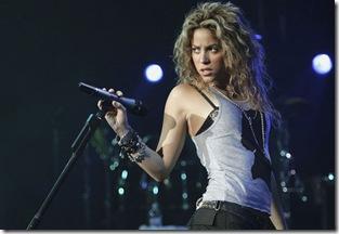 Shakira. en CHIS 2011 concierto