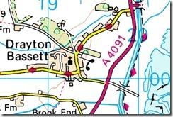 drayton bridge map