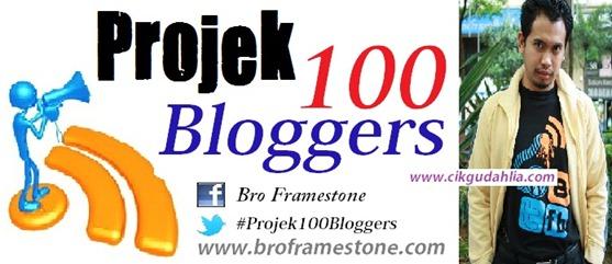 projek 100 bloggers