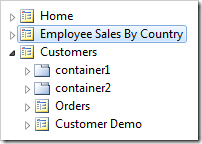 Employee sales by country page is now second in the site menu.