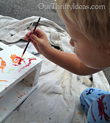 Pallet Painting