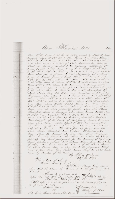 John A. Irwin, Samuel Collins sued by David Mason on 15 Dec 1853_0003