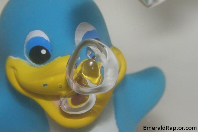 Pingvin som blåser bobler