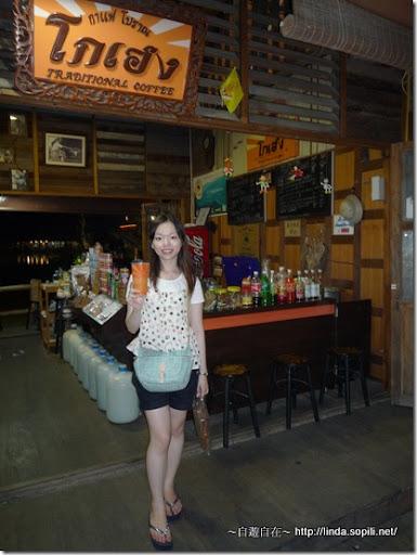 泰國芭達雅-錫攀水上市場Pattaya Floating Market 泰式奶茶