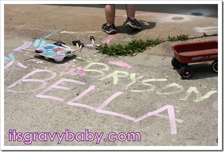 Liquid Sidewalk Chalk 2