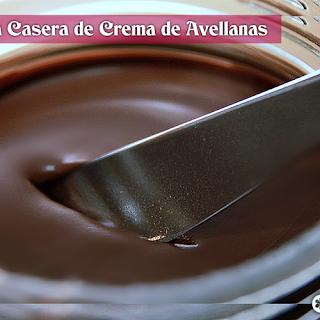 Cómo preparar Nutella en casa (crema de avellanas)