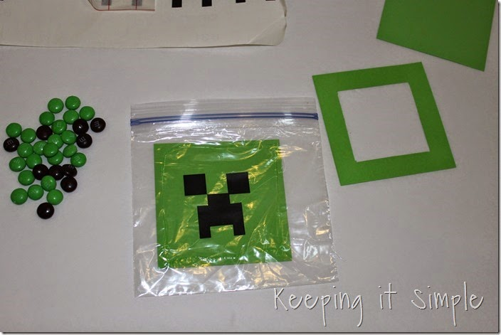 Minecraft Creeper DIY Valentine and Party Favor (7)