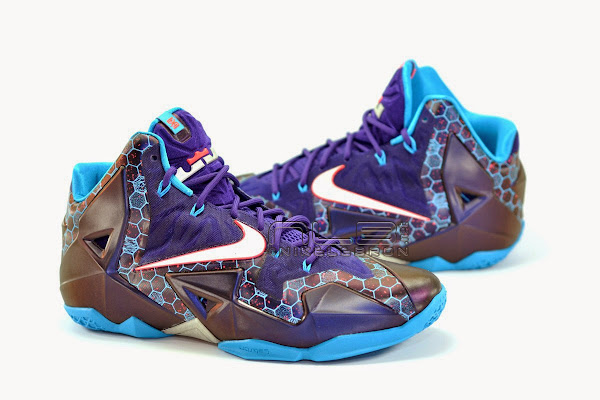The Showcase Nike LeBron XI Summit Lake Hornets