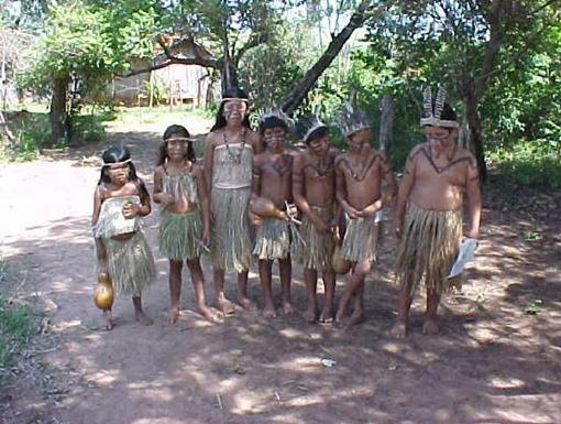 412_Kaingang Danca 27 04 2003 Aldeia Vanuire ARCO IRIS SP