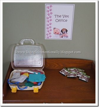 Kids Pretend Play Vet Office