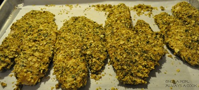tortilla crusted tilapia 1