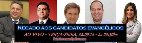 recado aos candidatos evangélicos - Priscila e Maxwell Palheta