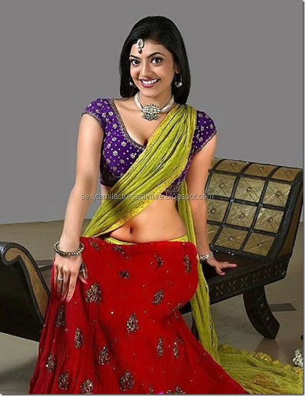 Kajal_Agarwal_Hot_Navel_stills_02