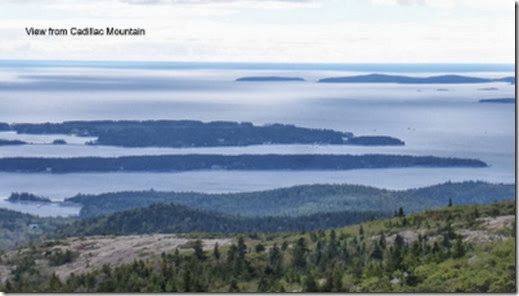 View from Cadillac Mountain