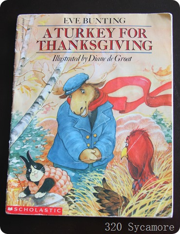 turkey for thanksgiving book