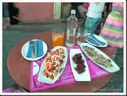 tapa dinner