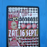 classic cafe poster in Amsterdam, Noord Holland, Netherlands